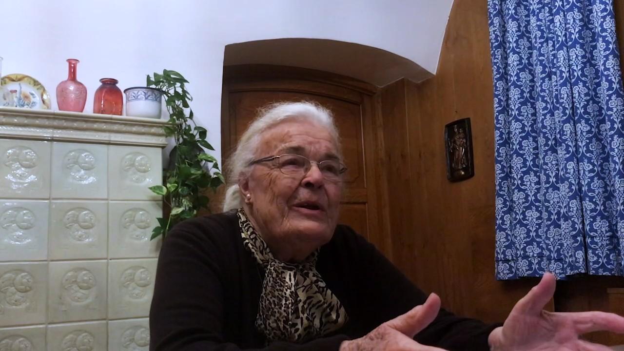 Stefanie Starkl über die letzten Tage des 2. Weltkrieges, Anfang April 1945