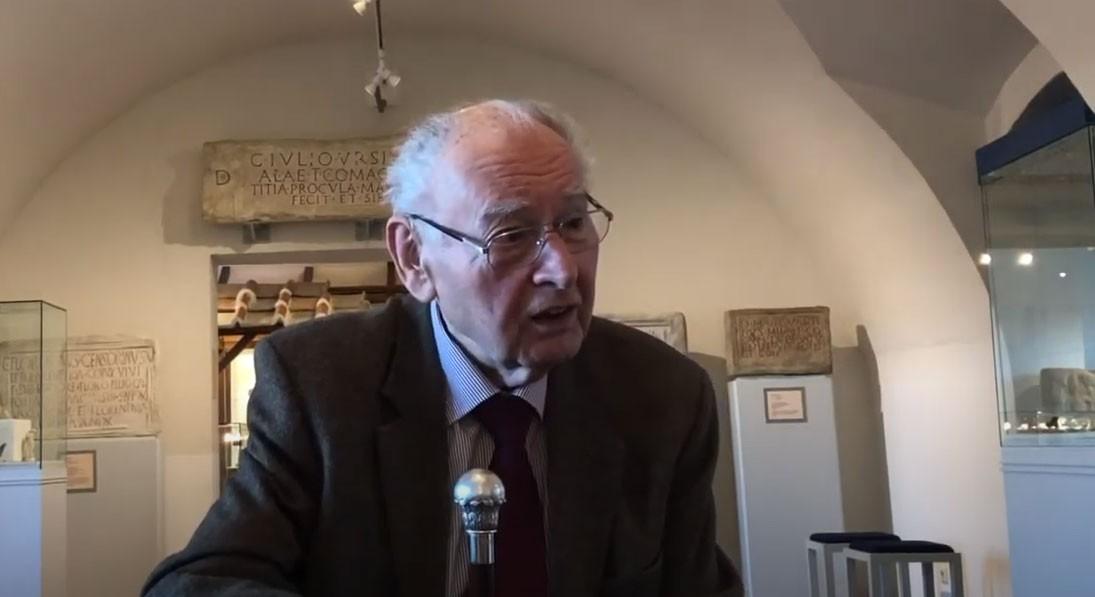 Dr. Roderich Geyer über den Bombenangriff in Tulln 1944